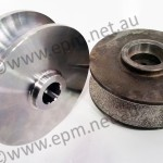 Tamrock DRIVE WHEEL (COATED) OEM Ref: 55002037 EPM Ref: TA306