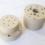 Custom peek fittings machined for Oil & Gas